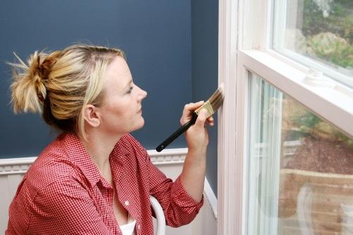 Что делать с окном, когда краска снята?