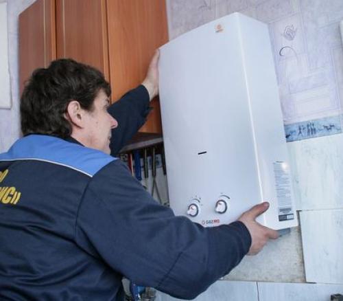 Как установить газовую колонку?