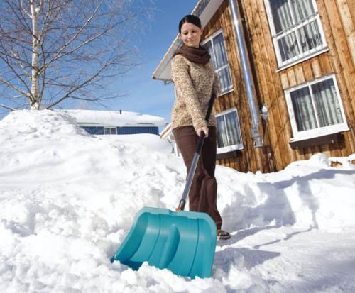 Как выбрать лопату для уборки снега? Видео