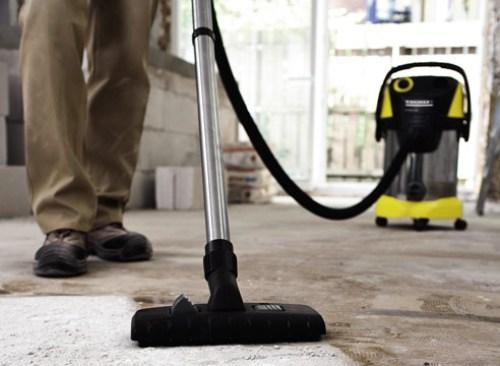 Как выбрать промышленный пылесос для строительных работ?