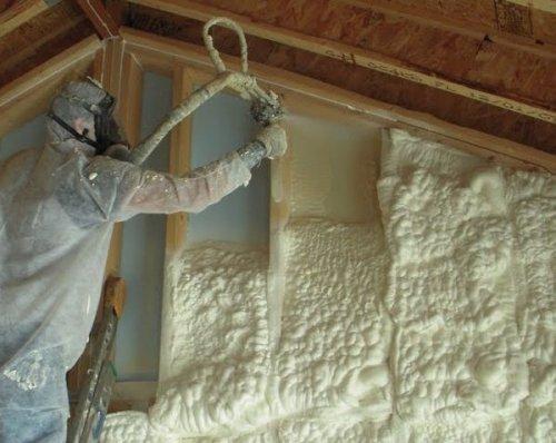 Напыляемая теплоизоляция. Что это такое, где применяется и преимущества напыляемой теплоизоляции