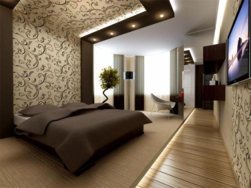 Акцент на кровати