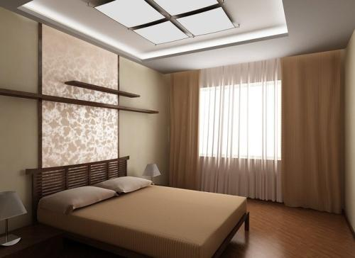 японский минимализм в спальне