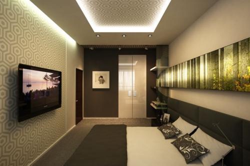 Правильное обустройство узкой комнаты