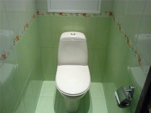 Плитка для туалета. Фото