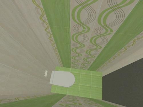 Проект отделки туалета плиткой