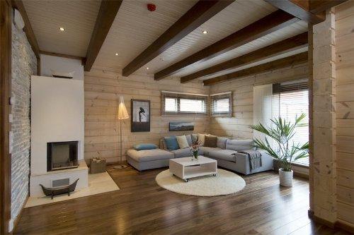 Деревянный материал для обивки потолка