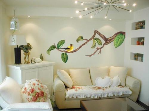Какой рисунок выбрать для нанесения на стену?