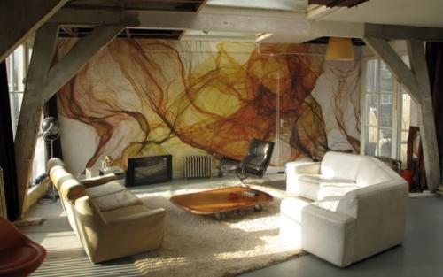 Какие комнаты можно украшать рисунками?