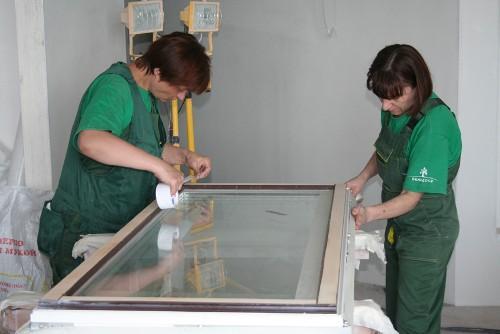 Шпаклевка и шлифовка окон. Готовим деревянные окна к покраске