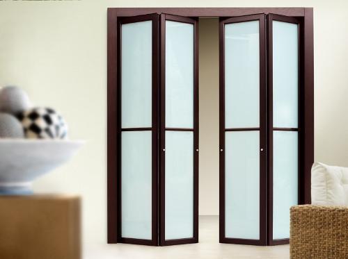 Какие складные межкомнатные двери выбрать?