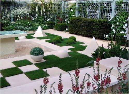 Современный стиль сада