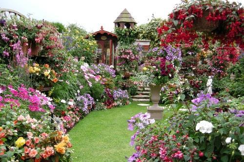Стили сада. Как сделать красивый сад?