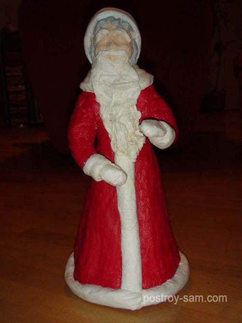Мех для шубы Деда Мороза