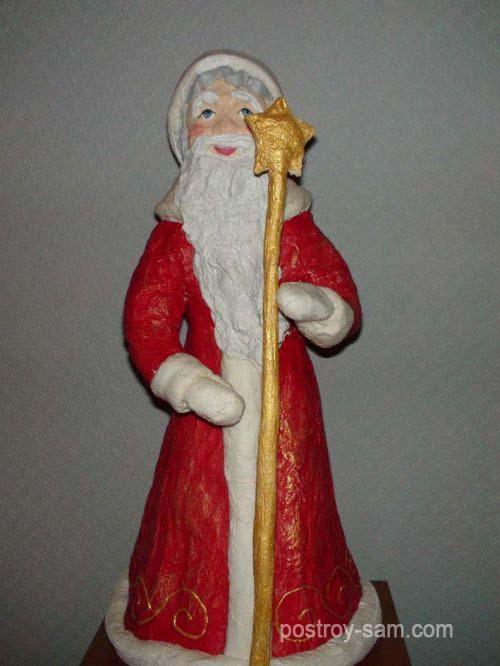 Поделка Деда Мороза