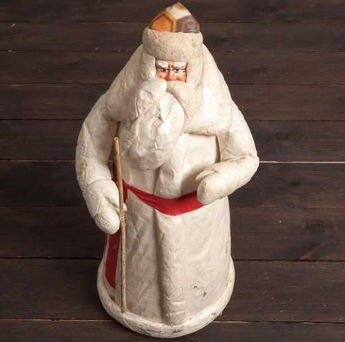 Дед Мороз своими руками из ваты. Мастер-класс