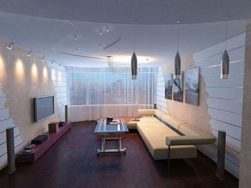 Цветовая палитра небольшой гостиной