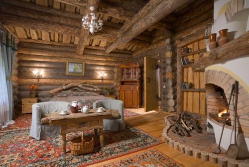 Дизайн интерьера дачного дома. Фото