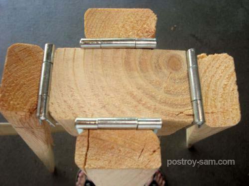 Самодельный каркас для елки
