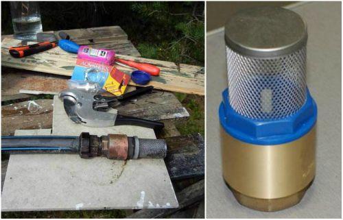 Фильтр для водяного насоса