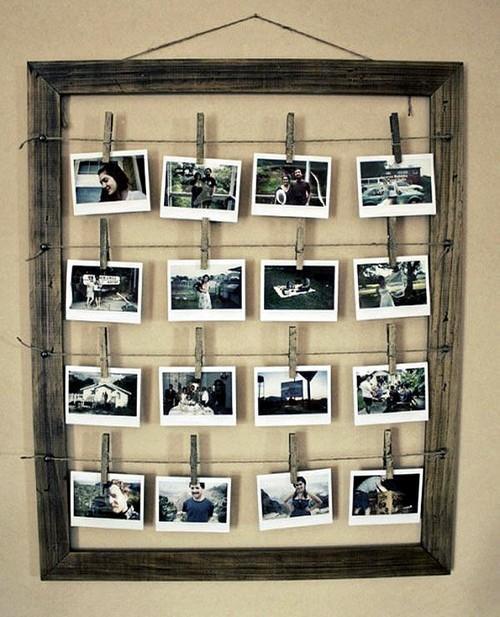 Фотографии в необычной рамке