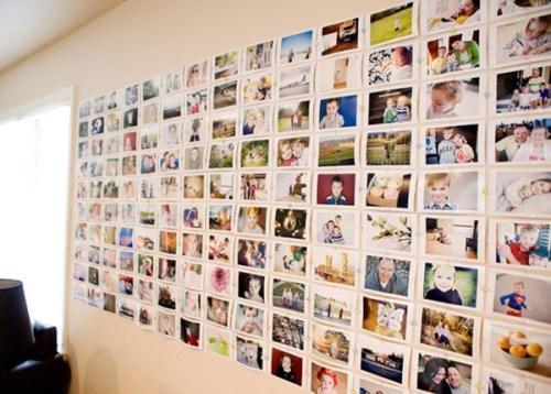 Как оформить стену фотографиями своими руками?