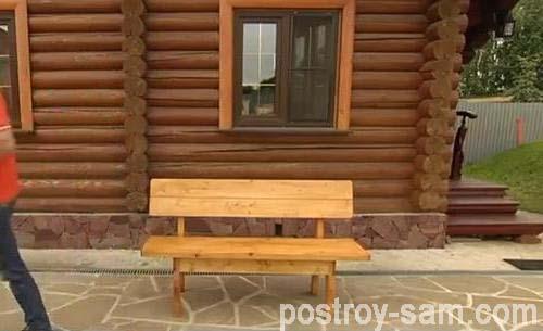Как сделать скамейки для дачи своими руками?