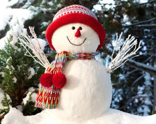Снеговики
