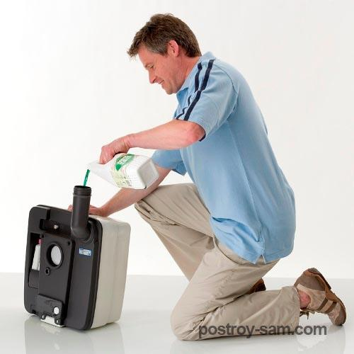 Способы очистки отходов биотуалета