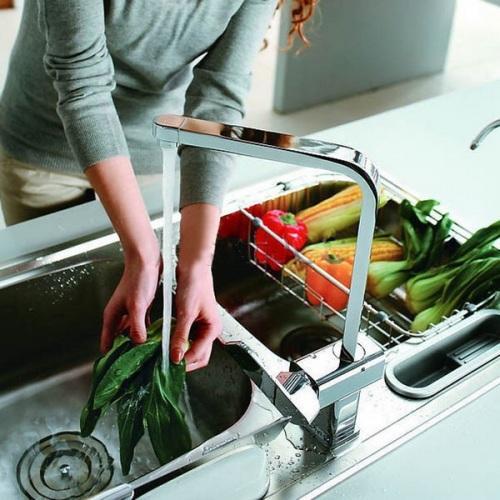 Материал и покрытие смесителя для кухни