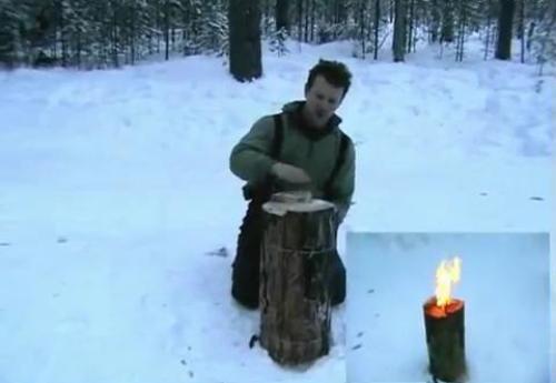 """Костер-свеча """"Примус"""""""