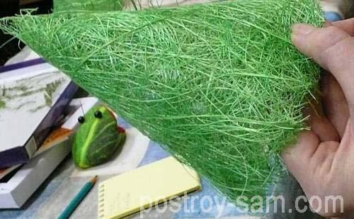 Сизаль для елки