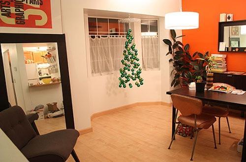Подвесна новогодняя елка