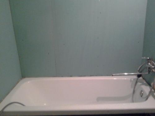 Выравнивание стен гипсокартоном в ванной