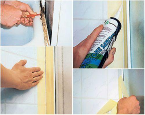 Как побороть плесень в душевой кабинке своими руками?