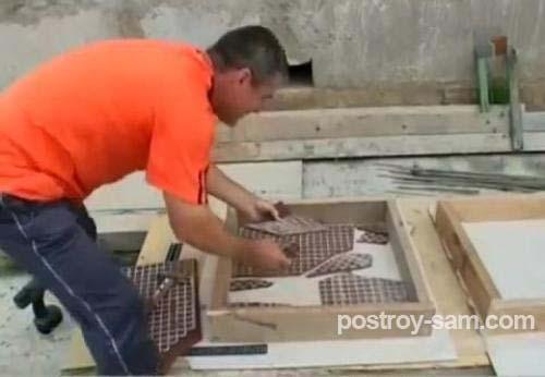 Декор плитки