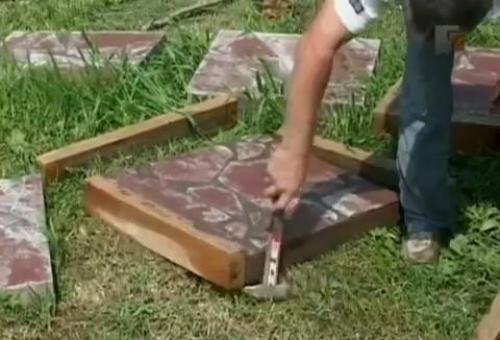 Плитка для дорожек своими руками. Руководство по изготовлению плитки