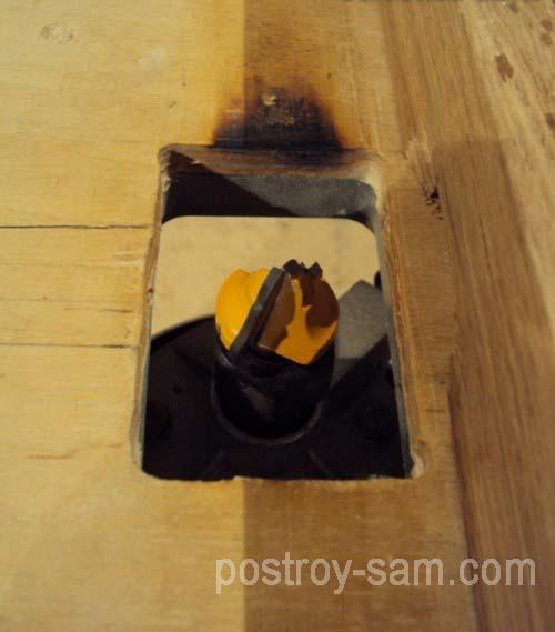 Основание для установки фрезера