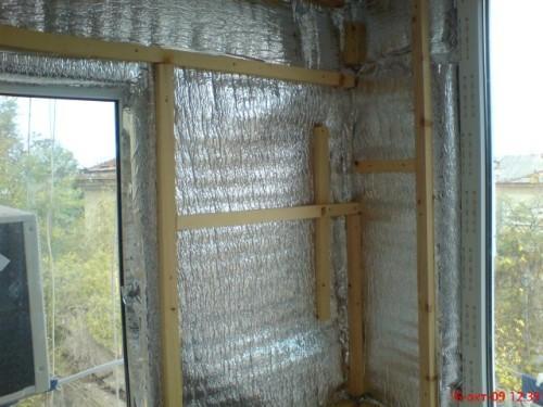 Другие теплоизоляционные материалы для утепления стен изнутри