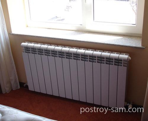 Расчет количества и размеров радиаторов отопления