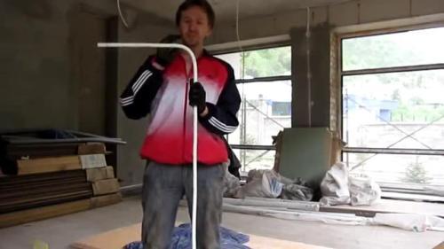 Как согнуть металлопластиковую трубу руками