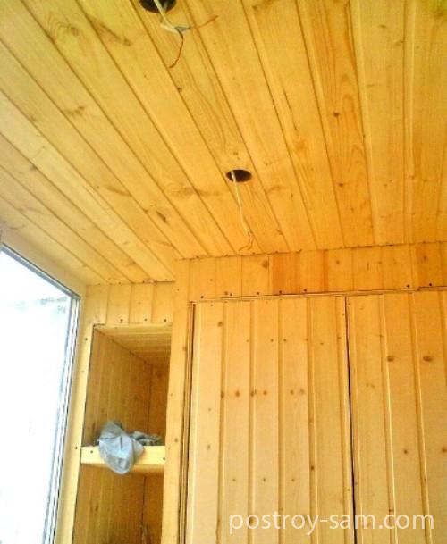 Выбор материала для обшивки балкона