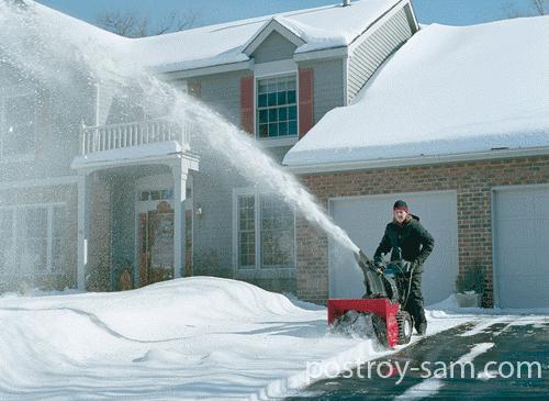 Мощность снегоуборщика