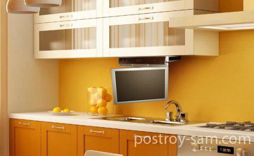 Какой телевизор купить на кухню. Основные требования