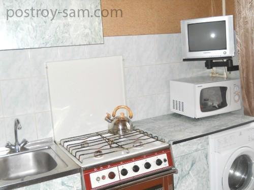 Уход за телевизором на кухне