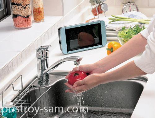 Мобильный телевизор для кухни