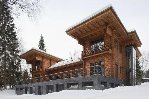 Дачный дом из дерева в Московской области