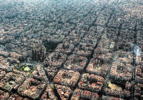 Район Eixample (Эшампле) в Барселоне