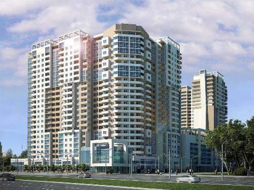 Современные красивые многоэтажные дома