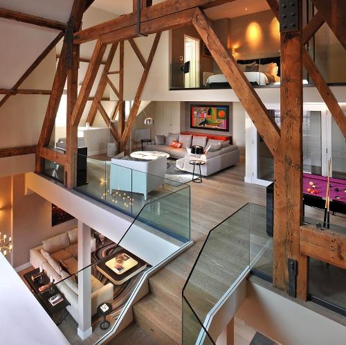 Красивый интерьер жилого дома
